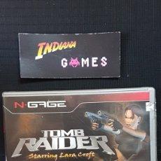 Videojuegos y Consolas: NOKIA NGAGE TOMB RAIDER STARRING LARA CROFT. Lote 95349088