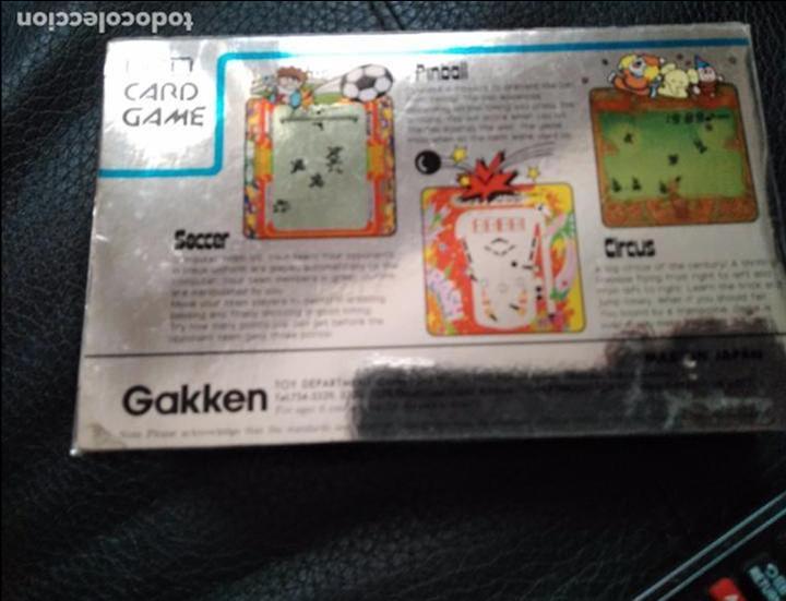 Videojuegos y Consolas: Maquinita Circus gakken en caja con corchos instrucciones - Foto 2 - 95350495