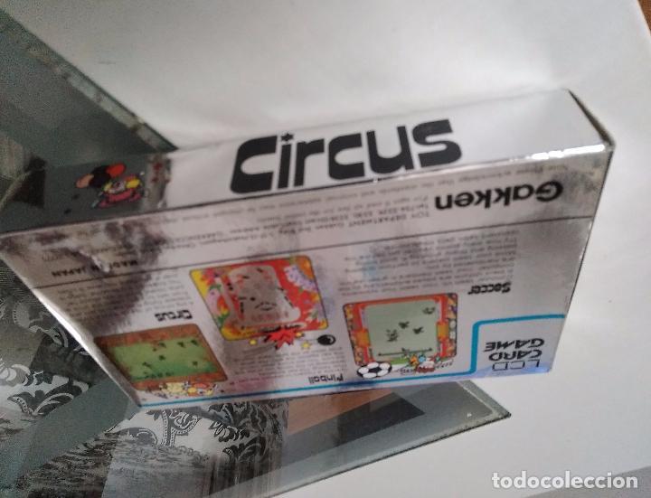 Videojuegos y Consolas: Maquinita Circus gakken en caja con corchos instrucciones - Foto 3 - 95350495