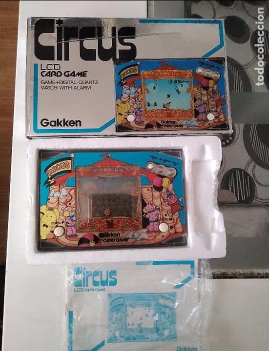 Videojuegos y Consolas: Maquinita Circus gakken en caja con corchos instrucciones - Foto 4 - 95350495