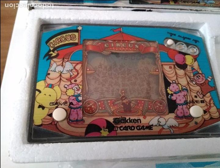 Videojuegos y Consolas: Maquinita Circus gakken en caja con corchos instrucciones - Foto 6 - 95350495