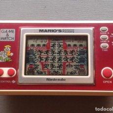 Videojuegos y Consolas: NINTENDO GAME&WATCH WIDESCREEN MARIO´S CEMENT FACTORY ML-102 FILTRO NUEVO VER!!! R6532. Lote 96069667