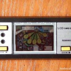 Videojuegos y Consolas: MAQUINITA LCD CONSOLA RUNAWAY DE GAKKEN MADE IN JAPAN JAPON. Lote 96140259