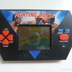 Videojuegos y Consolas: CONSOLA FIGHTING BOXER. AÑO 1989. FUNCIONA CORRECTAMENTE. AKALAIM. Lote 96362683