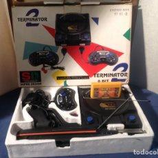 Videojuegos y Consolas: CONSOLA TERMINATOR 2 ENDING- MAN 8 BIT SÚPER DESIGN. Lote 224185038