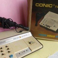 Videojuegos y Consolas: VIDEOJUEGOS DE TELEVISION, COMIC CON CAJA ORIGINAL..NO PROBADO..LOS MANDOS ESTAN EN LA CAJA.AÑOS 80. Lote 96781107