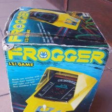 Videojuegos y Consolas: MAQUINA MINI ARCADE VINTAGE FROGGER - JAPAN KONAMI1982 - ORIGINAL JOYA!! FUNCIONA PERFECTA!!. Lote 96973115