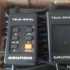 Videojuegos y Consolas: TELE-SPIEL GRUNDIG. JUEGO DE TENIS PARA CONECTAR AL VIDEO O LA TV. AÑOS 80. RARO... ENVÍO GRATIS. Lote 97230891