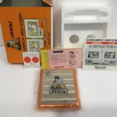 Videojuegos y Consolas: LIFE BOAT NINTENDO GAME & WATCH MULTI SCREEN TC-58 1983. Lote 97688083