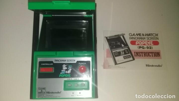 Videojuegos y Consolas: game watch de nintendo panorama popeye + instrucciones - Foto 2 - 97711203