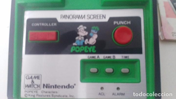 Videojuegos y Consolas: game watch de nintendo panorama popeye + instrucciones - Foto 3 - 97711203