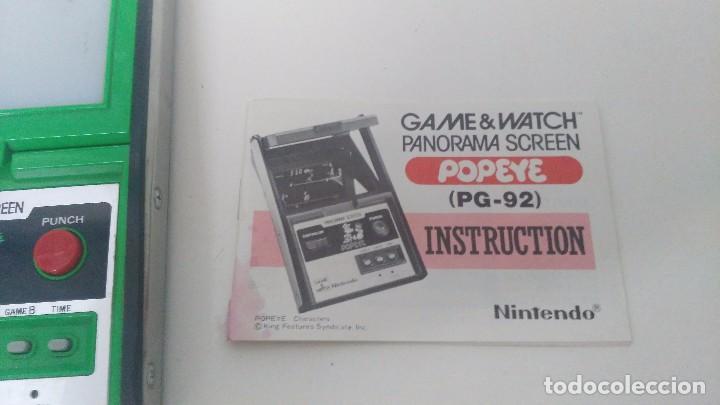 Videojuegos y Consolas: game watch de nintendo panorama popeye + instrucciones - Foto 11 - 97711203