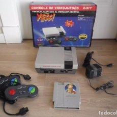 Videojuegos y Consolas: CONSOLA CLÓNICA 8 BITS YESS! MODEL YS-91P JUEGO 20 EN 1. Lote 98001735