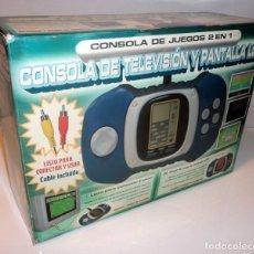 Videojuegos y Consolas: CONSOLA DE TV Y PANTALLA LCD. 2 EN 1. JUEGOS CLÁSICOS. RETRO. ARCADE.. Lote 98230071