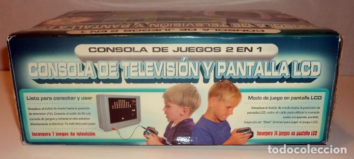 Videojuegos y Consolas: Consola de TV y pantalla LCD. 2 en 1. Juegos clásicos. Retro. Arcade. - Foto 3 - 98230071