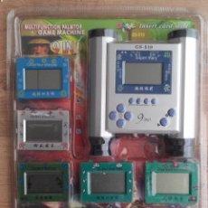 Videojuegos y Consolas: JUEGO ELECTRONICO MULTIFUNCION PALMTOP GAME MACHINE - CONSOLA & 9 JUEGOS . Lote 98482323