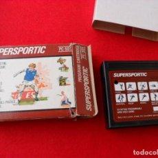 Videojuegos y Consolas: JUEGO SUPERSPORTIC PARA PC-501 BUEN ESTADO. Lote 98545859