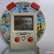 Videojuegos y Consolas: MAQUINITA REDONDA AÑOS 80 (FUNCIONA). Lote 98623535