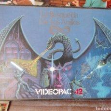 Videojuegos y Consolas: LA BUSQUEDA DE LOS ANILLOS VIDEOPAC COMPLETO MUY BUEN ESTADO. Lote 98873832