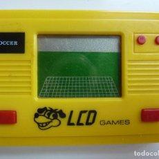 Videojuegos y Consolas: LCD GAMES. SOCCER. FÚTBOL. AÑOS 80 (FUNCIONA). Lote 98942767
