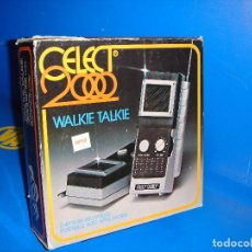 Videojuegos y Consolas: WALKIE TALKIES JUGUETE VINTAGE SELECT 2000 TYPE 602. Lote 98969007