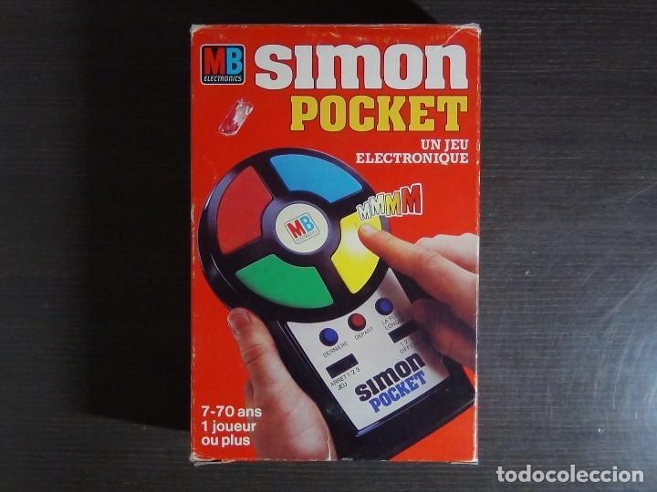 SIMON POCKET DE MB (Juguetes - Videojuegos y Consolas - Otros descatalogados)
