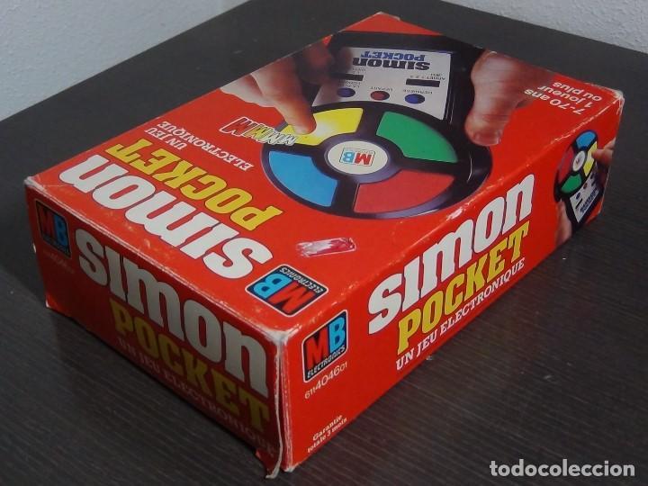 Videojuegos y Consolas: Simon Pocket de MB - Foto 4 - 99315479