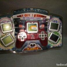 Videojuegos y Consolas: 918- JUEGO ELECTRONICO- HOT GAME SERIES - N EX-CHANGE CARD- RED- NUEVO -VIEJO STOCK. Lote 100162227
