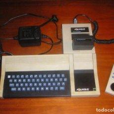 Videojuegos y Consolas: ORDENADOR VINTAGE AQUARIUS DE MATTEL (1983) INCLUYE EXPANDER + 1 MANDO + 1 JUEGO. Lote 101032911