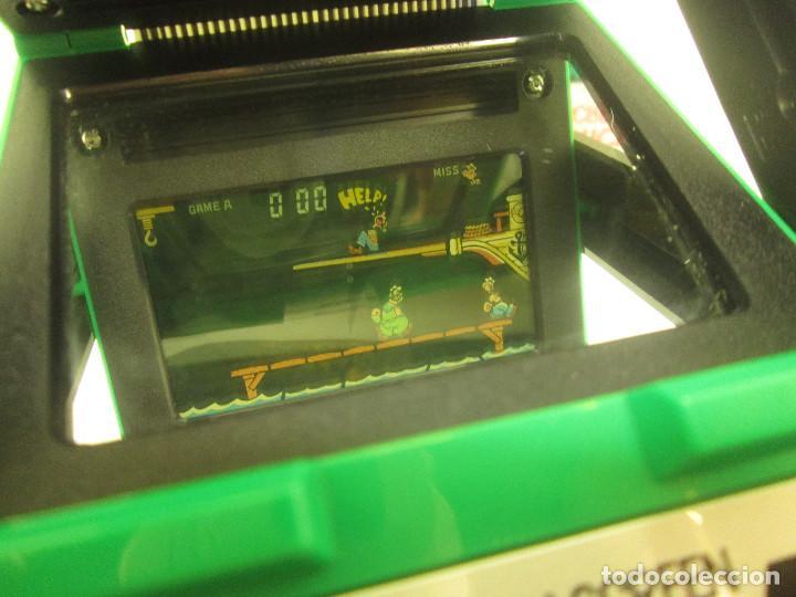 Videojuegos y Consolas: NINTENDO GAME & WATCH PANORAMA SCREEN, POPEYE, con caja e instrucciones, todo original, PG-92 - Foto 3 - 101653243