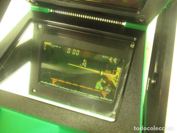 Videojuegos y Consolas: NINTENDO GAME & WATCH PANORAMA SCREEN, POPEYE, con caja e instrucciones, todo original, PG-92 - Foto 4 - 101653243