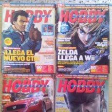 Videojuegos y Consolas: LOTE 8 HOBBY CONSOLAS - LAS QUE SE VEN EN LA FOTO. Lote 101772723