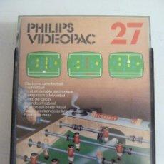 Videojuegos y Consolas: PHILIPS VIDEOPAC 27. Lote 101880315
