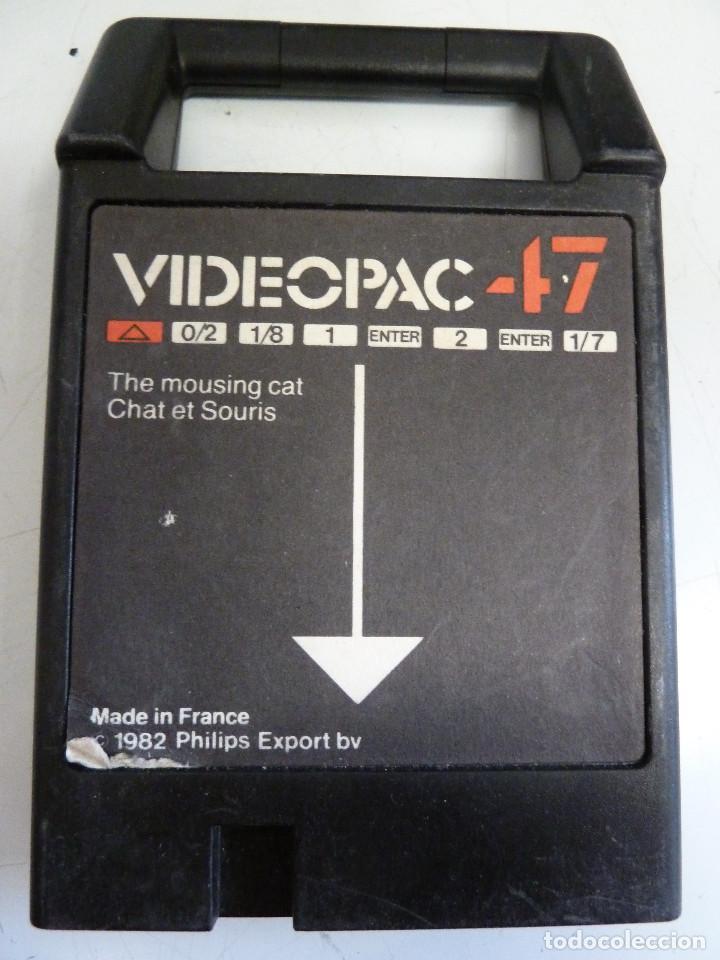 PHILIPS VIDEOPAC 47 (Juguetes - Videojuegos y Consolas - Otros descatalogados)