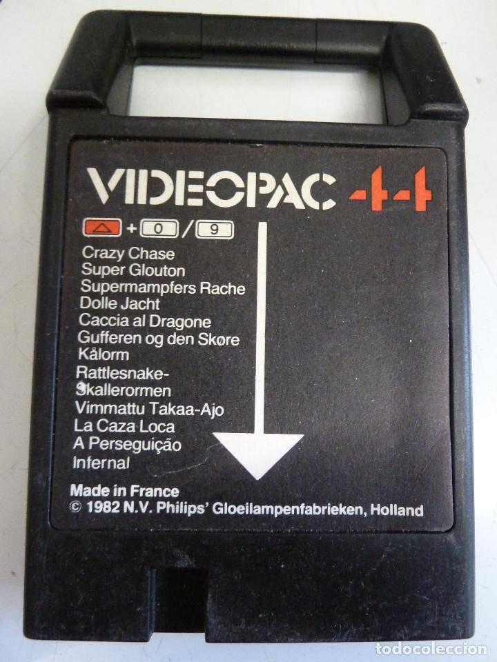 PHILIPS VIDEOPAC 44 (Juguetes - Videojuegos y Consolas - Otros descatalogados)