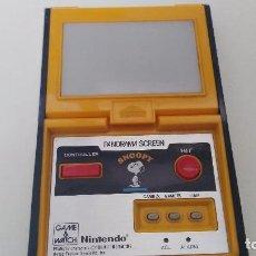 Videojuegos y Consolas: ANTIGUA GAME WATCH DE NINTENDO PANORAMA SCREEN SNOOPY. Lote 102155811