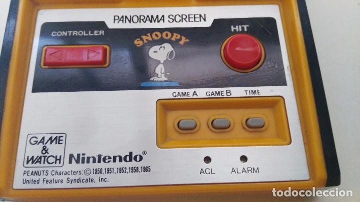 Videojuegos y Consolas: antigua game watch de nintendo panorama screen snoopy - Foto 2 - 102155811