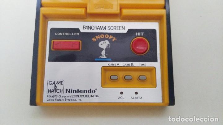 Videojuegos y Consolas: antigua game watch de nintendo panorama screen snoopy - Foto 3 - 102155811