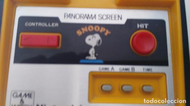 Videojuegos y Consolas: antigua game watch de nintendo panorama screen snoopy - Foto 11 - 102155811