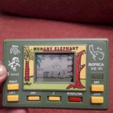 Videojuegos y Consolas: MAQUINA MAQUINITA LCD HUNGRY ELEPHANT RONICA - 90. Lote 102472572