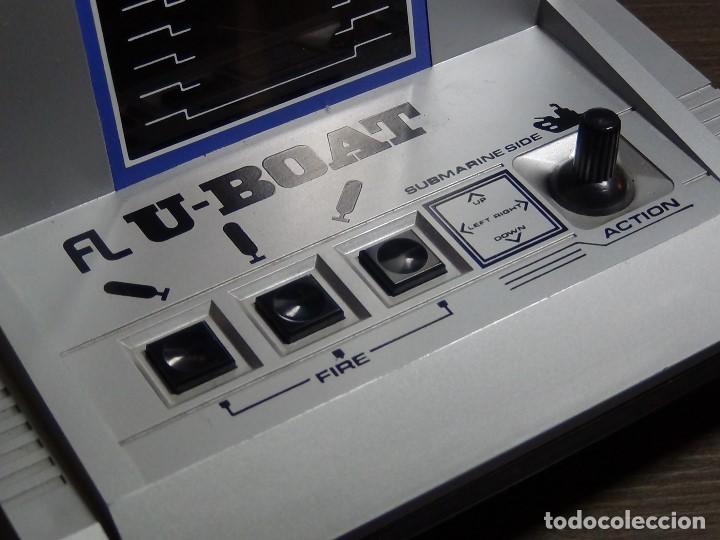Videojuegos y Consolas: CONSOLA DE DIODOS - BANDAI ELECTRONIC FL U-BOAT - FUNCIONANDO - VER VIDEO - Foto 8 - 102742387