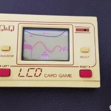 Videojuegos y Consolas: ANTIGUO Q&Q LCD CARD GAME MADE IN JAPAN PANTALLA CON GRIETA!!. Lote 154233817