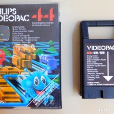 Videojuegos y Consolas: PHILIPS VIDEOPAC Nº 44 CRAZY CHASE. Lote 175541844