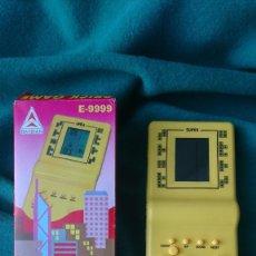Videojuegos y Consolas: CONSOLA VIDEOJUEGO BRICK GAME 9999 EN 1 AMARILLA. Lote 103564559