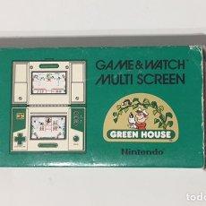 Videojuegos y Consolas: CAJA ORIGINAL NINTENDO GAME & WATCH GREEN HOUSE, SOLO LA CAJA. Lote 103803611