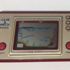Videojuegos y Consolas: NINTENDO GAME & WATCH OCTOPUS WIDE SCREEN FUNCIONANDO. Lote 103804011