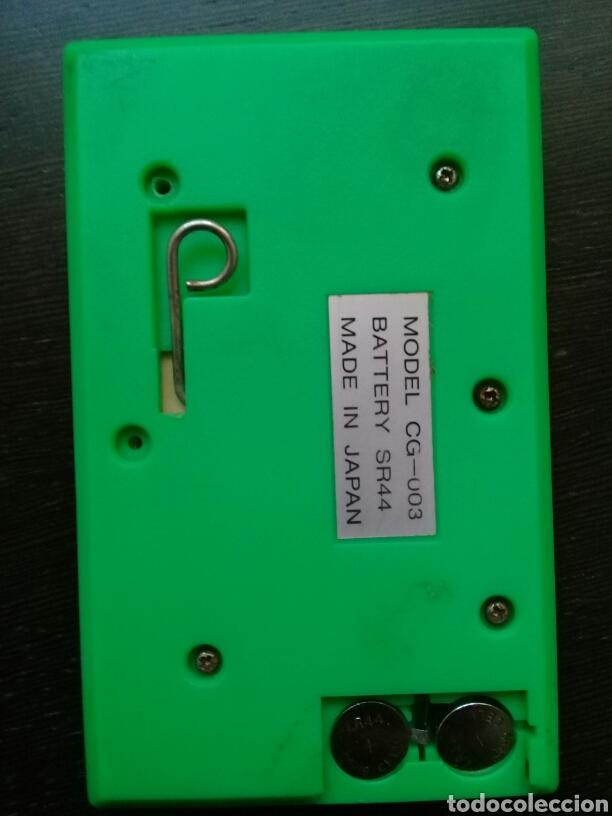 Videojuegos y Consolas: Maquinita Q & Q Game and Watch verde LCD Card Pesca Made in Japan FUNCIONANDO - Foto 2 - 103842286
