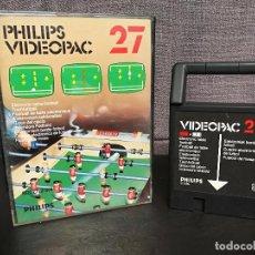 Videojuegos y Consolas: PHILIPS VIDEOPAC 27. Lote 104094051