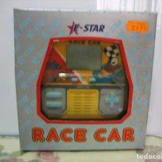 Videojuegos y Consolas: JUEGO ELECTRÓNICO ARACE CAR DE E-STAR E-21. SIN JUGAR. AÑOS 70 O 80. Lote 104443131