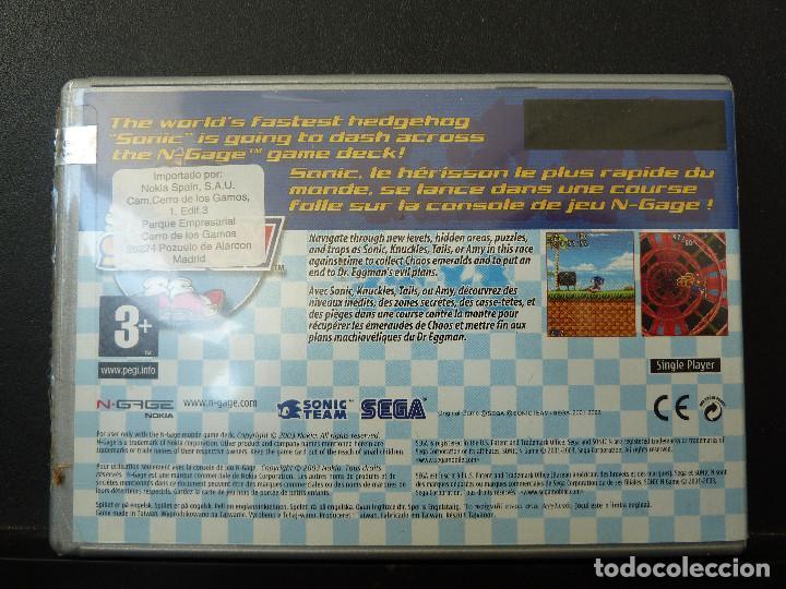 Videojuegos y Consolas: JUEGO - NOKIA - N-GAGE - SONICN - SONIC N - FIFA 2005 - Foto 2 - 104467407